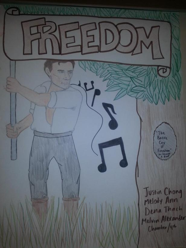 """The Battle Cry of Freedom"", from Point Lookout"