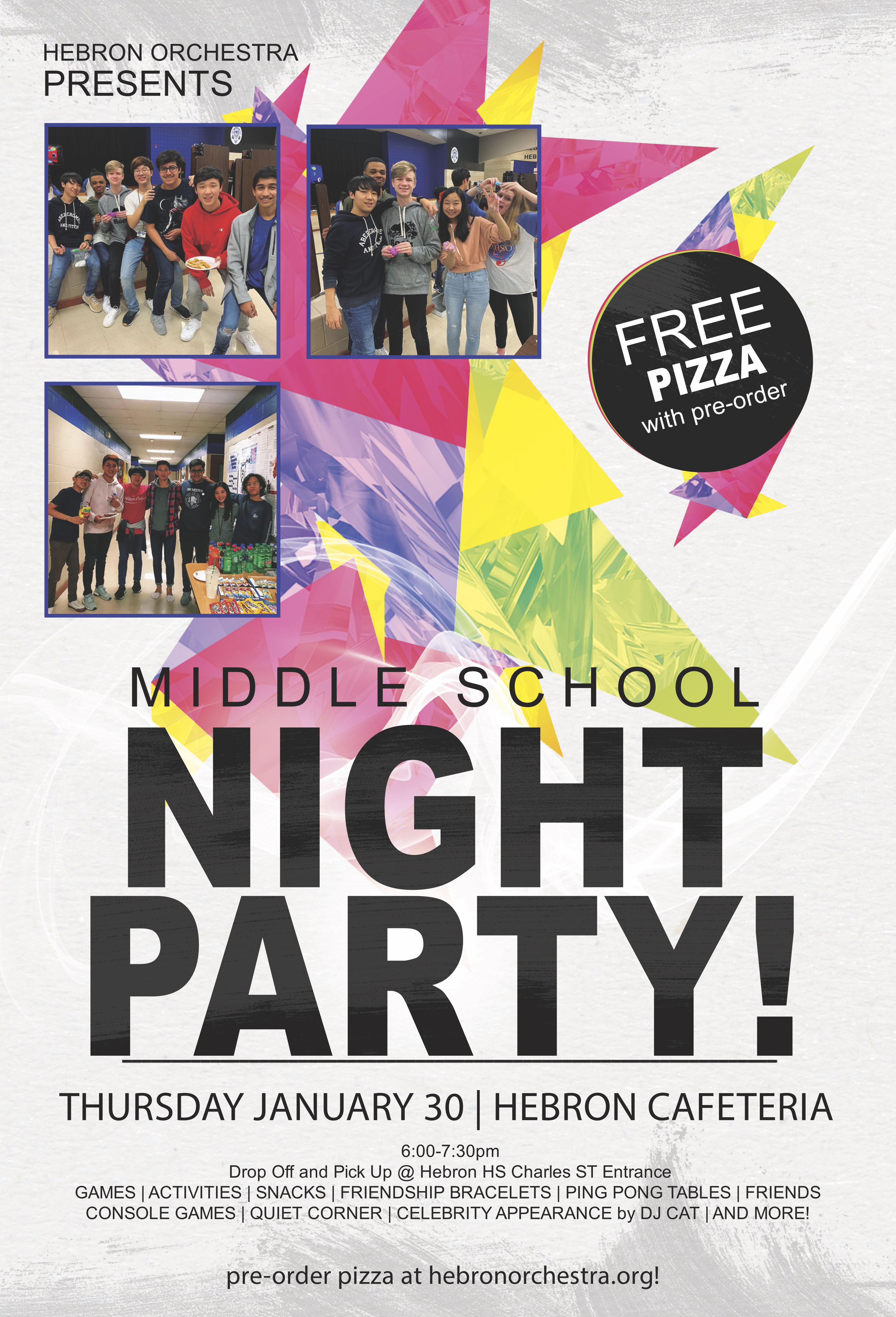 middle school night party 2020
